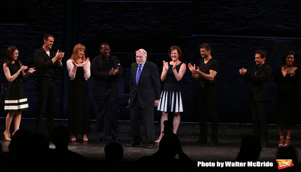 Hal Prince with cast