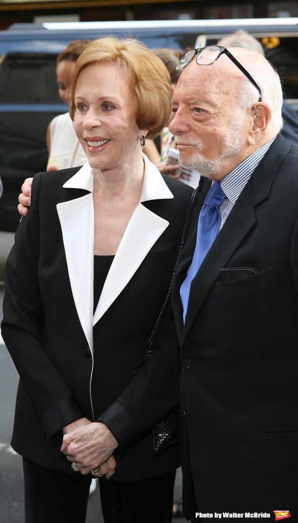 Carol Burnett and Hal Prince