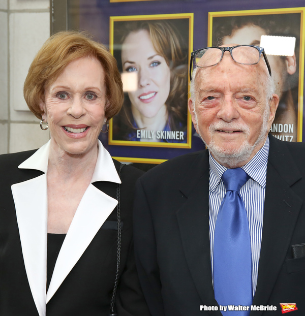 Carol Burnett and Hal Prince