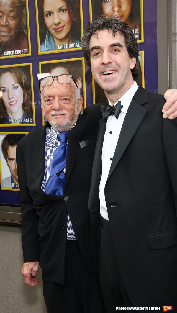 Hal Prince and Jason Robert Brown