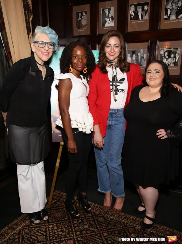 Lisa Lampanelli, Marsha Stephanie Blake, Eden Malyn and Nikki Blonsky