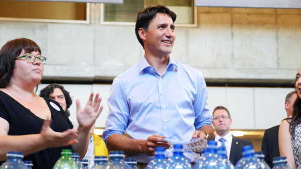 Photo Flash: Canadian Prime Minister Justin Trudeau Goes Behind the Scenes at Stratford Festival