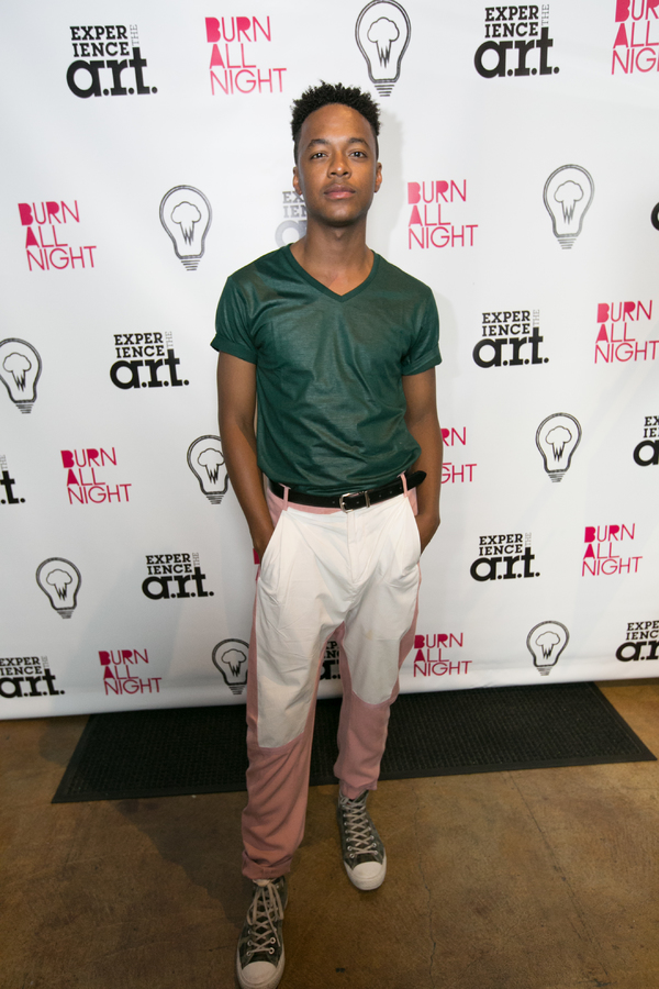 Photo Flash: Inside Opening Night of BURN ALL NIGHT at the A.R.T.