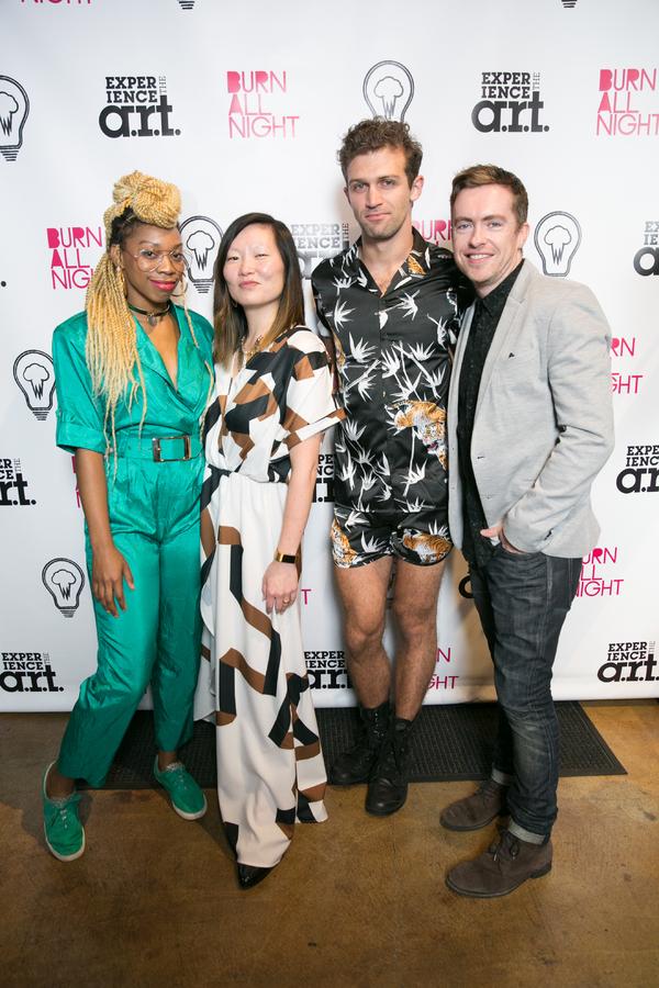 Ari Groover, Jenny Koons, Sam Pinkleton, and Cian McCarthy