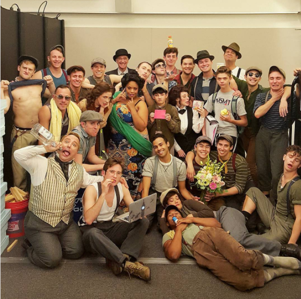 Photo Flash: BANDSTAND is 'Quillon It' and More Saturday Intermission Pics!