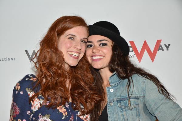 Courtney Bassett and Ashley Perez Flanagan