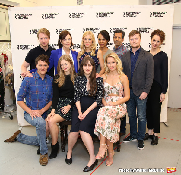 Photo Coverage: Meet the Company of Roundabout's TIME AND THE CONWAYS!