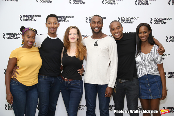 Photo Coverage: Meet the Company of Roundabout Underground's TOO HEAVY FOR YOUR POCKET