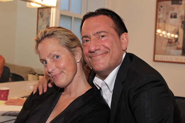 Ali Wentworth and Eugene Pack