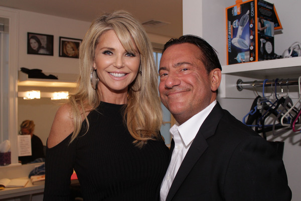 Christie Brinkley and Eugene Pack