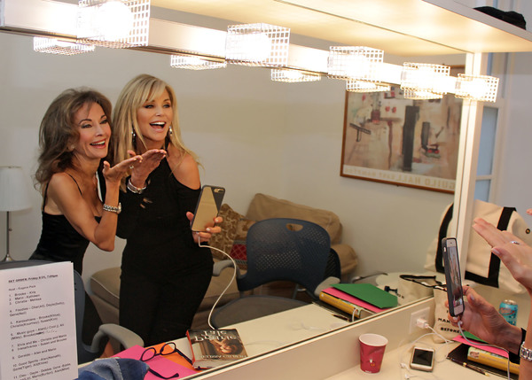 Susan Lucci and Christie Brinkley