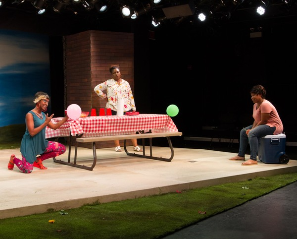 Photo Flash: First Look at Strawdog's BARBECUE, Opening Tonight at Steppenwolf's 1700 Theatre