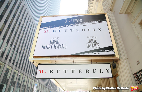 Up on the Marquee: M. BUTTERFLY
