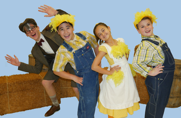 Cast of HONK! JR. at Walnut Street Theatre for Kids Photo
