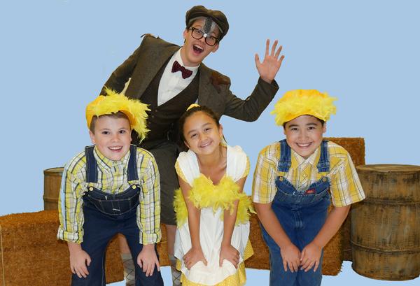 Photo Flash: Meet the Cast of Walnut Street Theatre for Kids' HONK! JR.