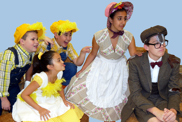 Cast of HONK! JR. at Walnut Street Theatre for Kids