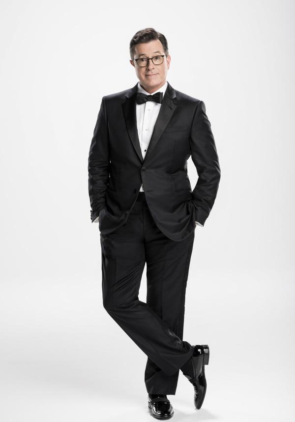 EMMY AWARDS Host Stephen Colbert