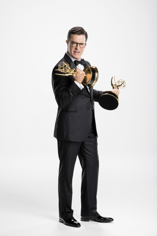 Photo Flash: Stephen Colbert Readies to Host 69TH PRIMETIME EMMY AWARDS