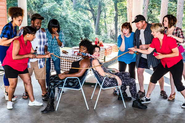 Photo Flash: Meet the Cast of BARBECUE at Trustus Theatre