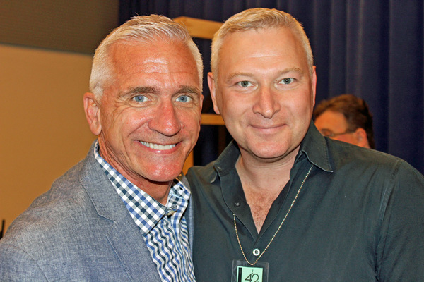 Mark S. Hoebee and Jeffrey Finn Photo
