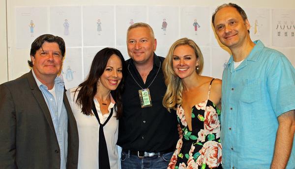 Michael McGrath, Leslie Kritzer, Jeffrey Finn, Laura Bell Bundy, Michael Mastro Photo