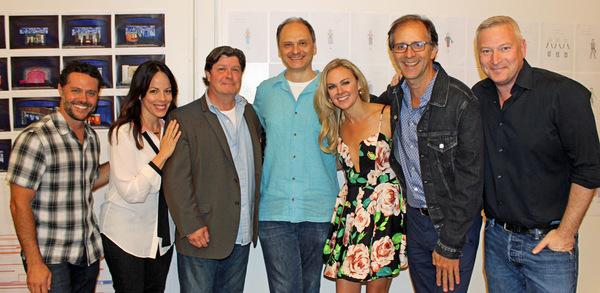 Joshua Bergasse, Leslie Kritzer, Michael McGrath, Michael Mastro, Laura Bell Bundy, J Photo
