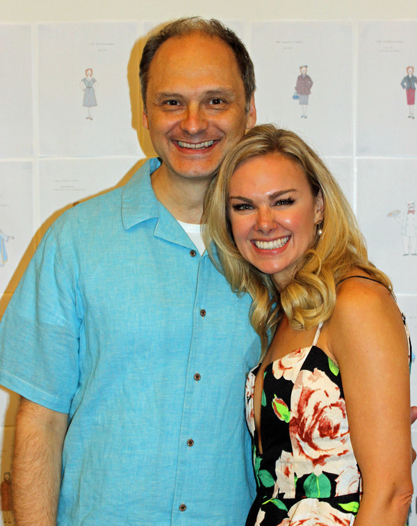 Michael Mastro and Laura Bell Bundy