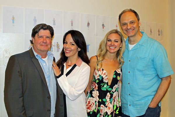 Photo Flash: THE HONEYMOONERS Company Meets the Press at Paper Mill