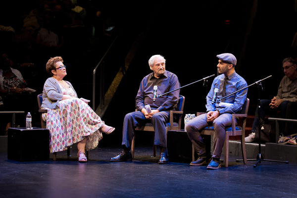 Artistic Director Molly Smith, Hal Linden and Maboud Ebrahimzadeh
