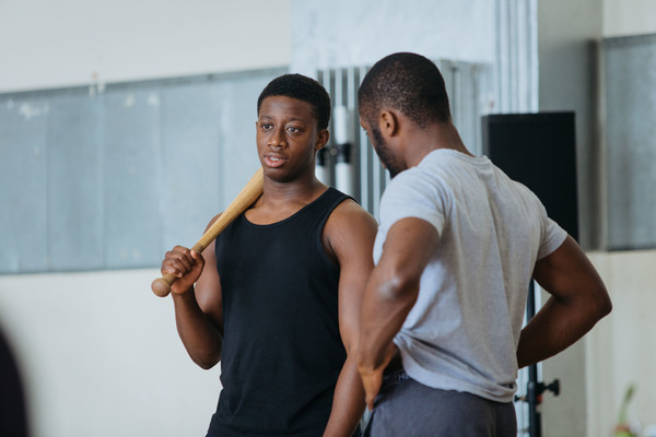 Photo Flash: Inside Rehearsal for National Youth Theatre REP Company's OTHELLO