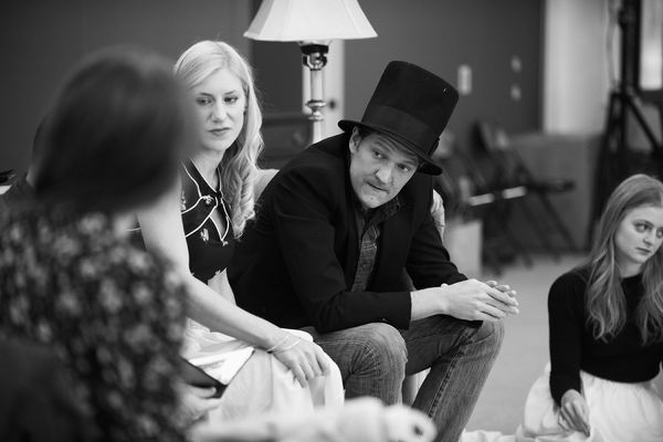 Photo Flash: Inside Rehearsal with Elizabeth McGovern, Anna Camp and More for Broadway's TIME AND THE CONWAYS