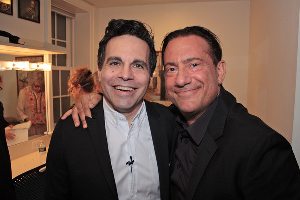 Mario Cantone and Eugene Pack