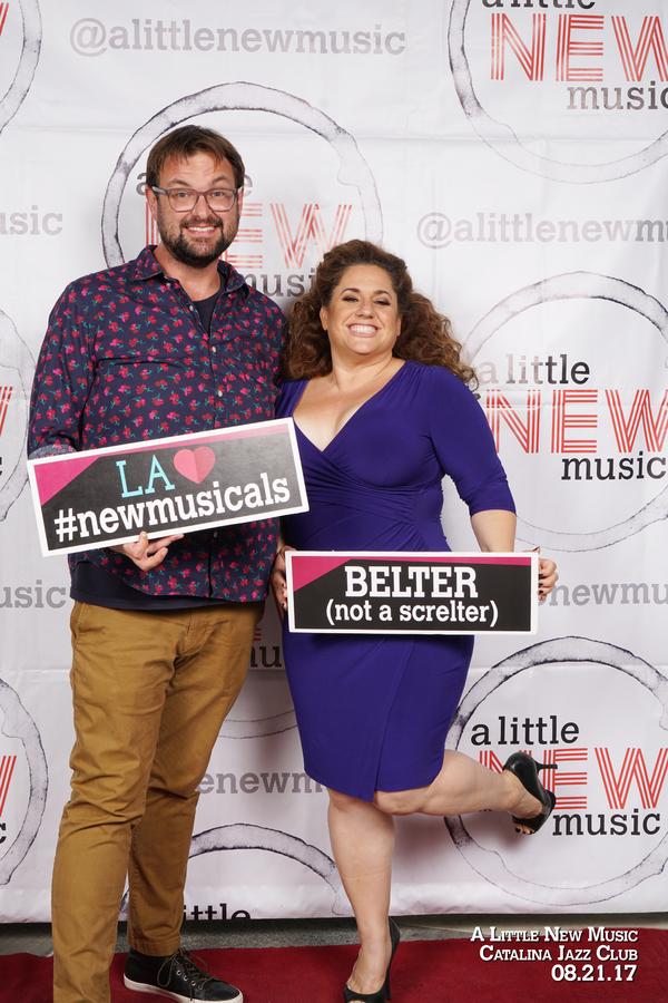 Ryan O'Connor and Marissa Jaret Winokur
