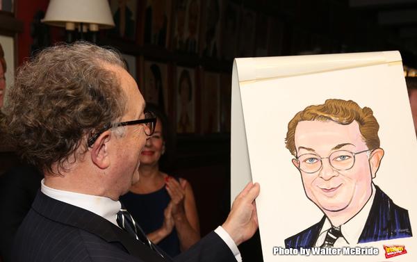 Photo Coverage: Legendary Costume Designer William Ivey Long Unveils His New Sardi's Portrait!