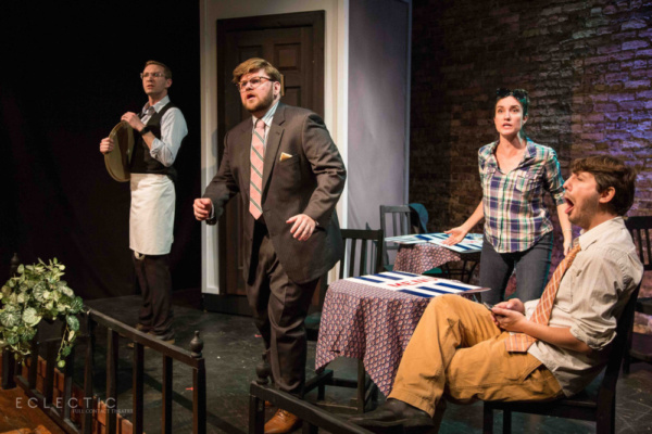 Photo Flash: First Look at RHINOCEROS from Eclectic Full Contact Theatre and THEatre HEIST