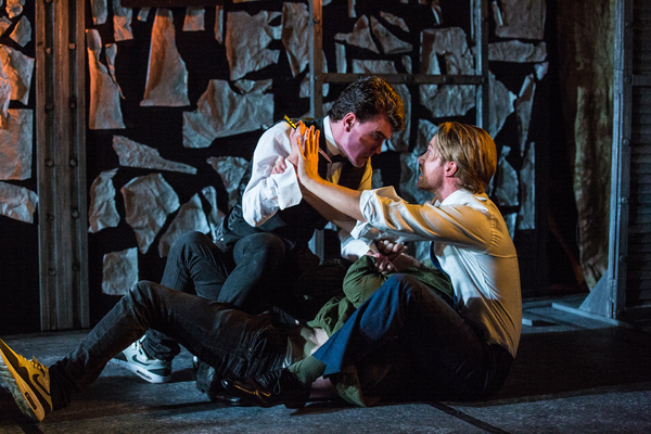 Photo Flash: First Look at OUTLAWS TO IN-LAWS, Opening Tonight at King's Head Theatre