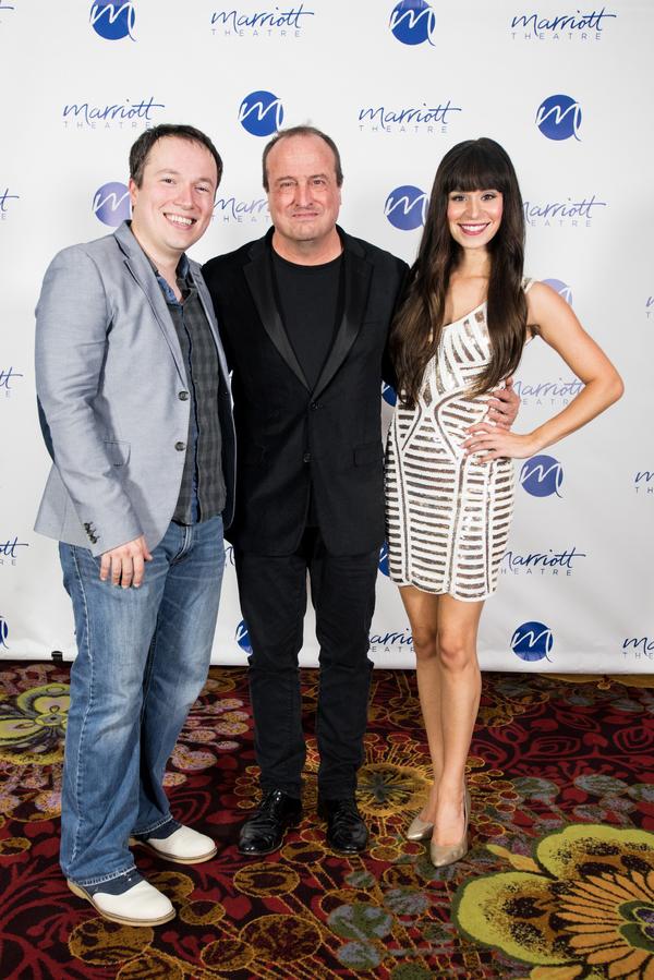 Michael Mahler, Gary Griffin, Samantha Pauly Photo