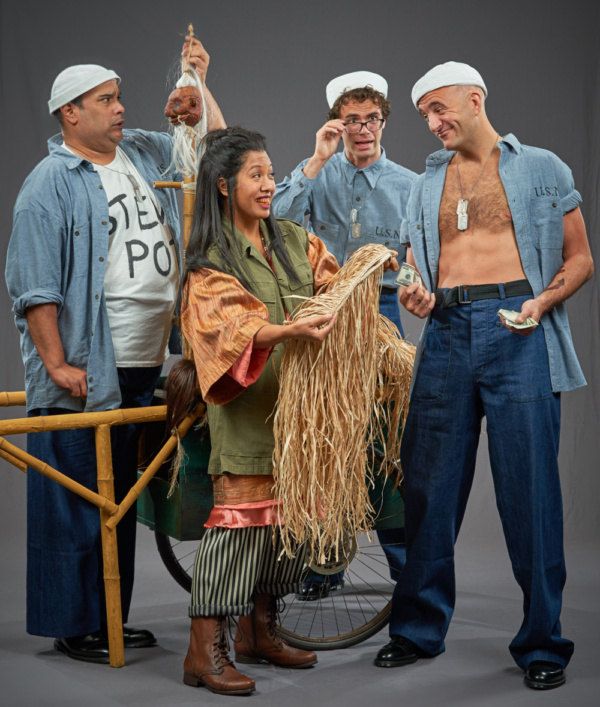 Photo Flash: Sneak Peek at Michael Halling, Leah Berry and More in Costume for SOUTH PACIFIC at STAGES