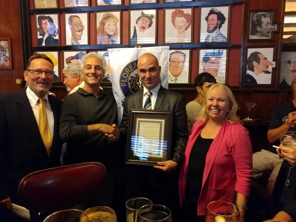Photo Flash: The Lambs Proclaims Sardi's Its Favorite Watering Hole