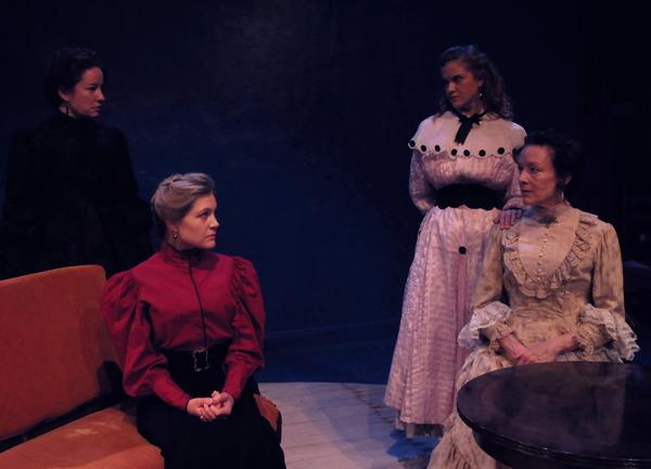 Alyssa Simon, Erin Beirnard, Becca Ballenger, Margaret Catov