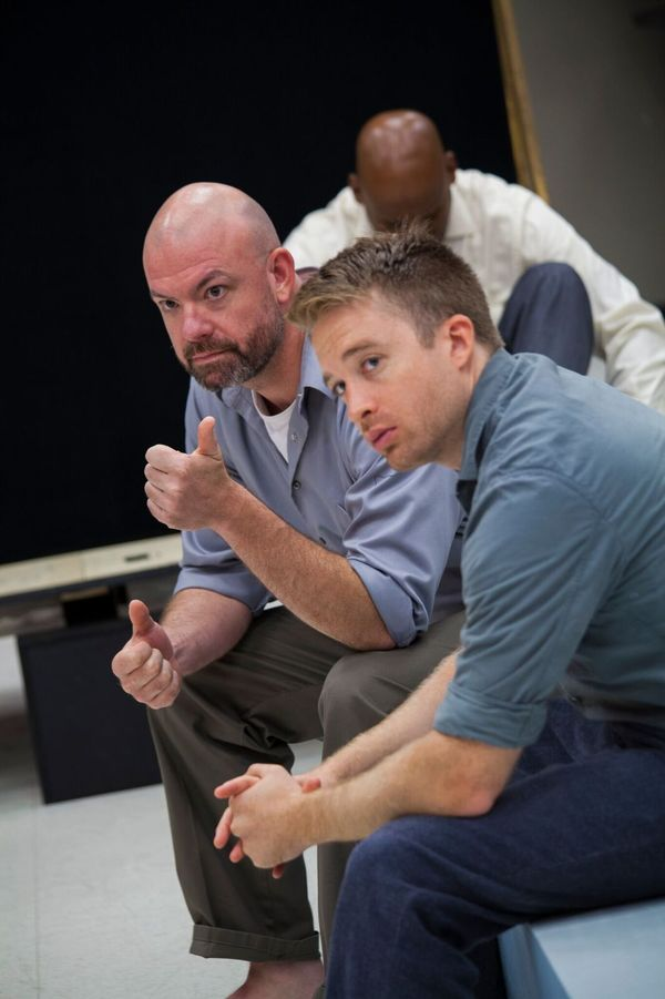 Photo Flash: Inside Rehearsal for Ivo van Hove's A VIEW FROM THE BRIDGE at Goodman Theatre