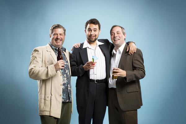 Mike Palmreuter, Jacob Roman and Adam Hogston