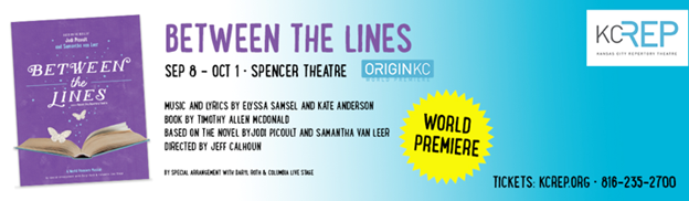 Arielle Jacobs and Curt Hansen Star in First Production of KCRep Season BETWEEN THE LINES