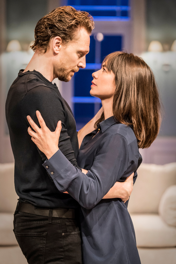 Tom Hiddleston and Caroline Martin