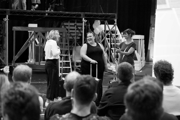 Photo Flash: In Rehearsals for THE BAND