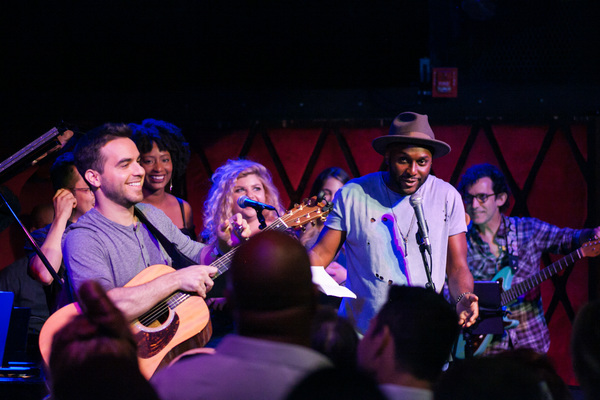 Photos: Lyons & Pakchar Sell Out Rockwood Music Hall
