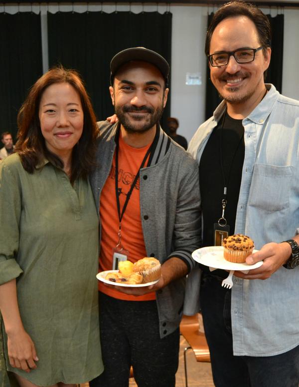Pearl Sun, Maboud Ebrahimzadeh and Rafael Untalan