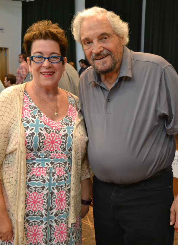 Molly Smith and Hal Linden