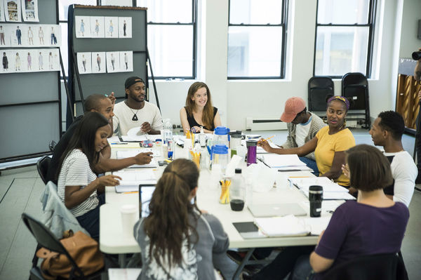 Photo Flash: Inside Rehearsal for Roundabout Underground's TOO HEAVY FOR YOUR POCKET