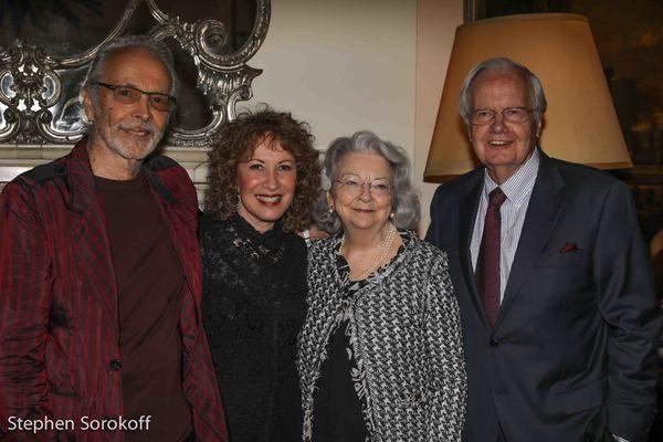 Herb Alpert, Lani Hall, Judith Suzanne Davidson, Bill Moyers Photo